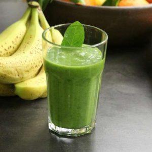 Spirulina and Spinach Power Smoothie
